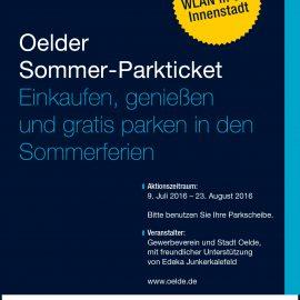 In den Sommerferien: Kostenlos Parken in Oelde