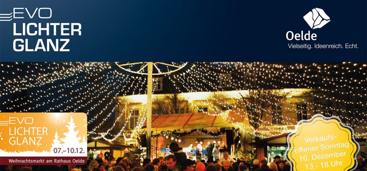 EVO Lichterglanz Weihnachtsmarkt