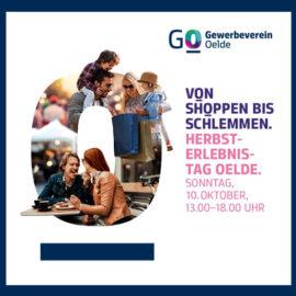 Von Shoppen bis Schlemmen – Herbst-Erlebnis Tag HET 2021 am 10.10.