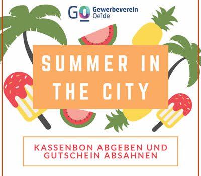 Mitmachen beim 'Summer in the City' Gewinnspiel im August