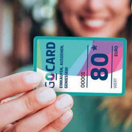 """Restbestände und neue Aktion """"GO-Card Einkaufsgutscheine"""""""