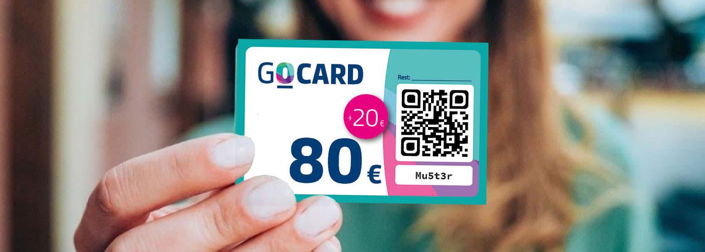 Ab 17. Mai Gutschein-Aktion GO-Card für Oelder Bürger